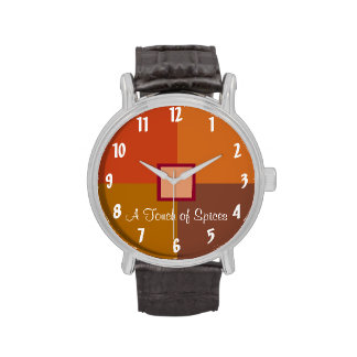 A Touch of Spices Wrist Watch