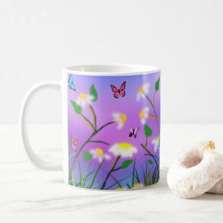 A Touch Of Spring, White Coffee Mug