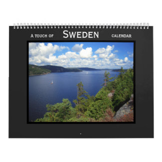 A touch of Sweden: Stockholm, Gothenburg, Bohuslän Calendar