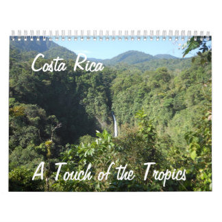 A Touch of the Tropics Wall Calendar