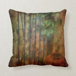 A Touch of Tuscany - AlFresco Throw Pillow