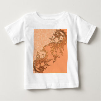 A touch of vintage in soft colors baby T-Shirt