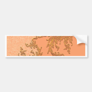 A touch of vintage in soft colors bumper sticker