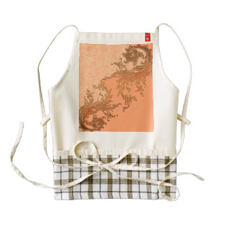 A touch of vintage zazzle HEART apron