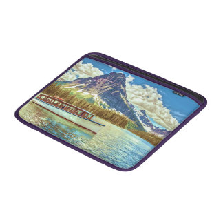 A Tourist Boat On A Lake MacBook Air Sleeve