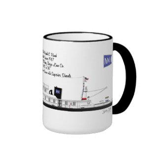 A Towboat named Frank C. Rand Ringer Mug
