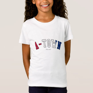 A-Town in Georgia state flag colors T-Shirt