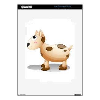 A toy puppy decals for iPad 2