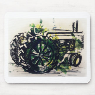 A Tractor! Mouse Pad