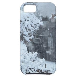 A Train Ride Through a Winter Wonderland iPhone 5 Covers