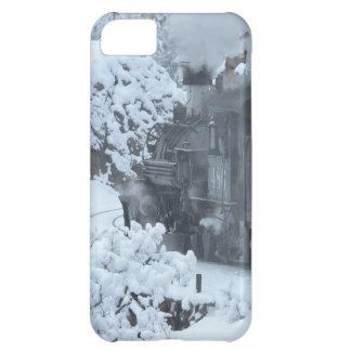 A Train Ride Through a Winter Wonderland Case For iPhone 5C