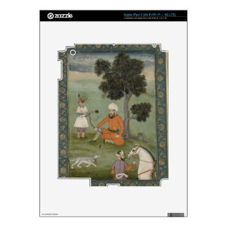 A Trans-Oxonian nobleman seated beneath a tree, fr iPad 3 Skins