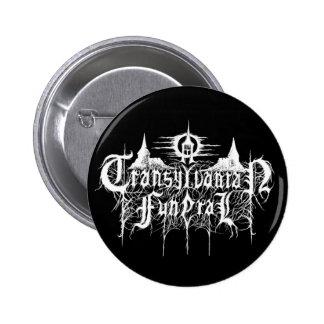 A Transylvanian Funeral Pinback Button