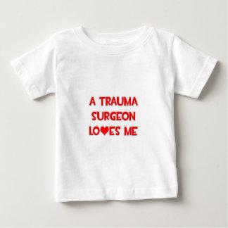 A Trauma Surgeon Loves Me Baby T-Shirt