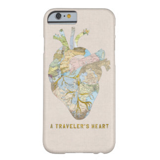 A Traveler's Heart Barely There iPhone 6 Case
