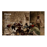 A traveling cook, Kairwan, Tunisia classic Photoch Business Card