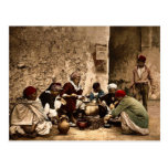 A traveling cook, Kairwan, Tunisia classic Photoch Post Cards