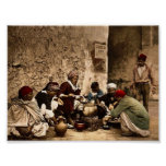 A traveling cook, Kairwan, Tunisia classic Photoch Posters