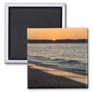 A Traverse Sunset Magnet