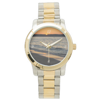 A Traverse Sunset Wristwatch
