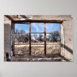A través de la ventana posters