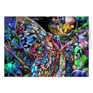 A través de las alas de una mariposa felicitacion