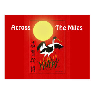 A través de las millas postal