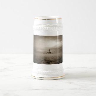 A través de las nieblas, a través del hielo jarra de cerveza
