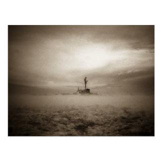 A través de las nieblas, a través del hielo postales