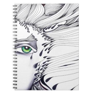 A través de los ojos de una mujer cuadernos