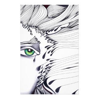 A través de los ojos de una mujer papeleria personalizada