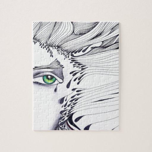 A través de los ojos de una mujer puzzle