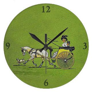 A través de París Reloj De Pared