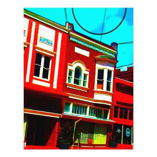 A través del capitolio viejo flyer a todo color