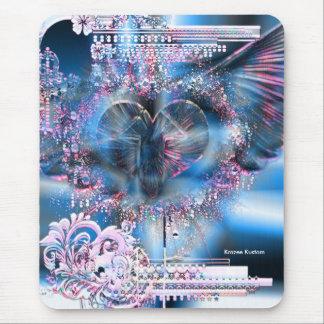 A través del corazón (edición del navidad 3) tapete de raton