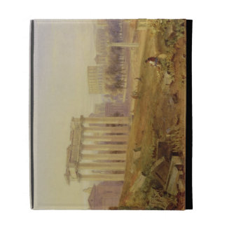 A través del foro, Roma, 1828 (w/c y aguazo encima