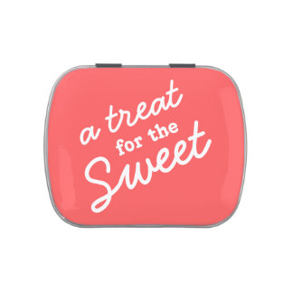 A Treat for the Sweet - Bright Pink Jelly Belly Tin