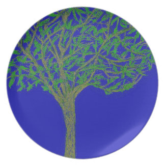 A Tree Dinner Plates
