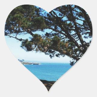 A Tree For All Seasons Heart Sticker