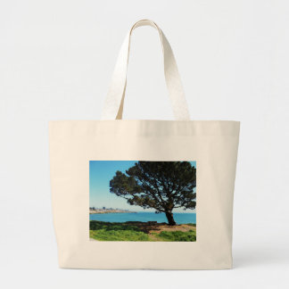 A Tree For All Seasons Large Tote Bag