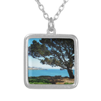 A Tree For All Seasons Square Pendant Necklace