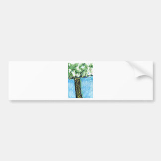 A Tree From My Hearts Mind Bumper Sticker