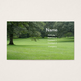 A Tree in a Field of Green Business Card