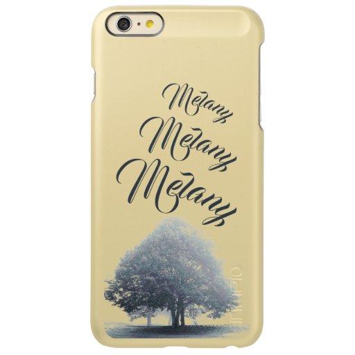 A Tree in Fog Decal For iPad 3 Incipio Feather Shine iPhone 6 Plus Case
