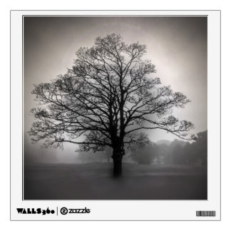 A Tree in the Fog Wall Decal