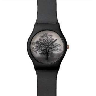 A Tree in the Fog Wrist Watch