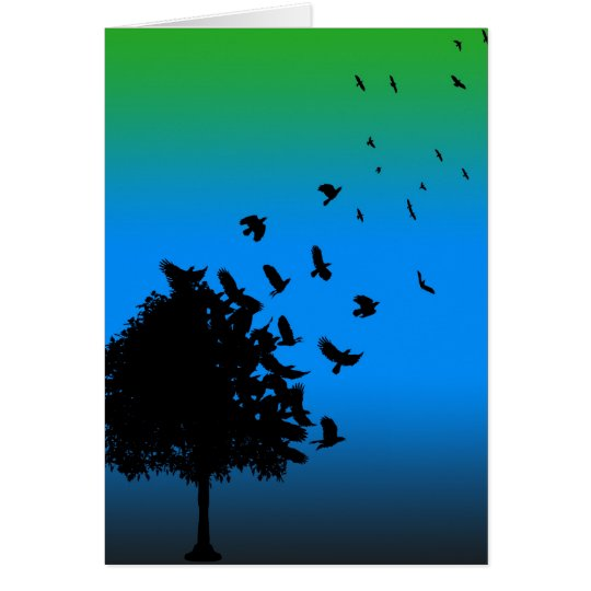 A Tree of Crows Card