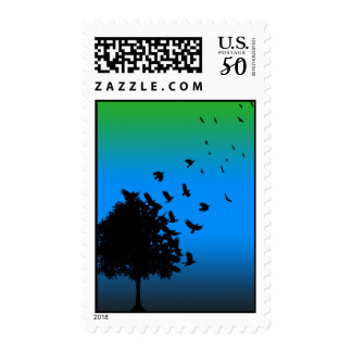A Tree of Crows Postage