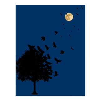 A Tree of Crows Postcard