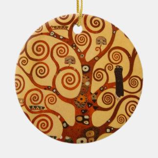 A Tree of Life Ceramic Ornament